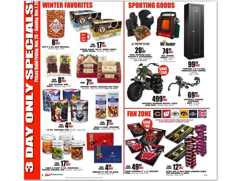Blain's Farm & Fleet Black Friday Ad 2019