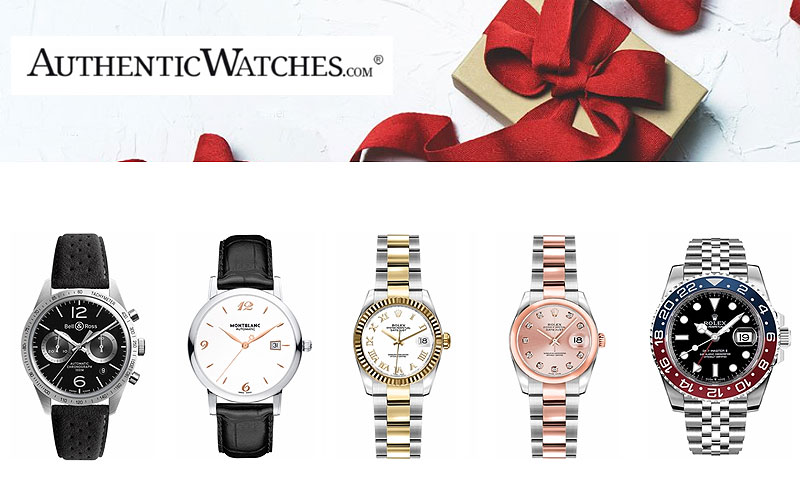 Authentic Watches Holiday Sale: Up to 70% Off
