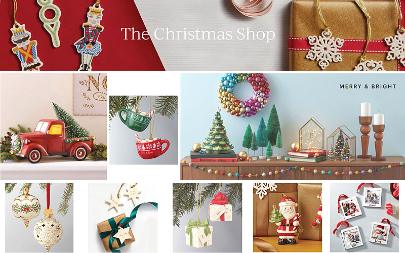 Christmas Shop: Up to 50% Off on Holiday Decor, Ornaments & More