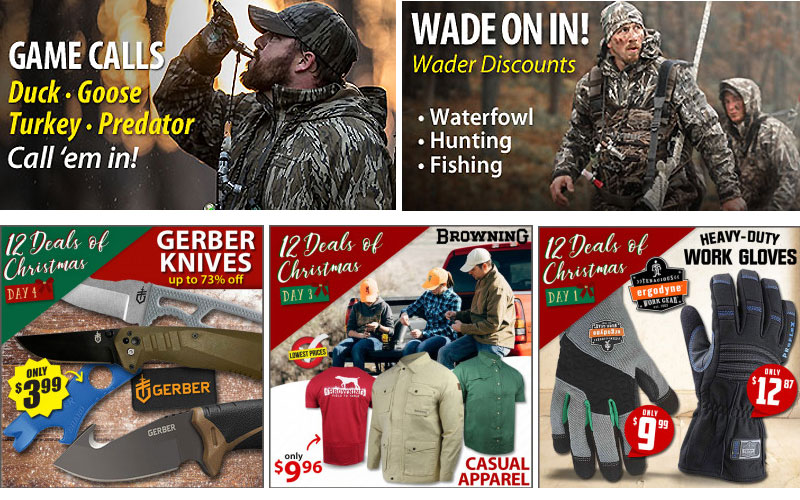Up to 65% Off on Hunting Apparel & Gears