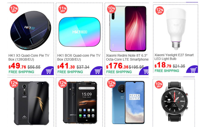 Up to 70% Off on Mobiles, Electronics, Smart Gadgets & More
