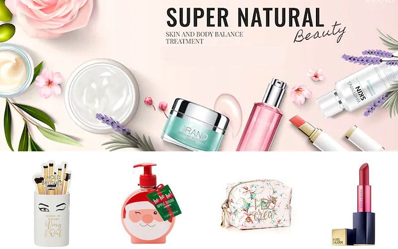 Beauty Clearance! 70% Off on Beauty & Cosmetic Products