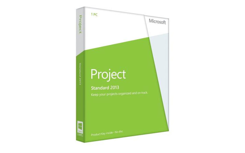 Microsoft Project 2013 Standard Instant License