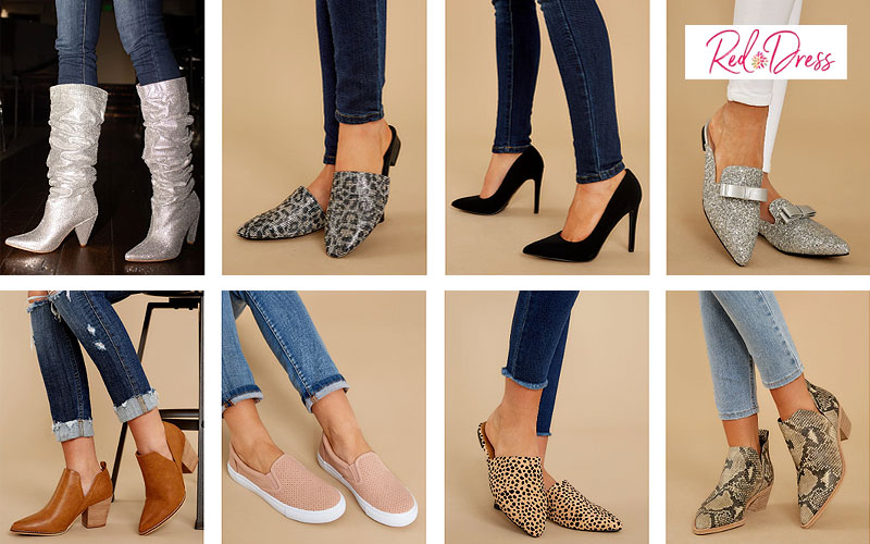 Shop Trendy Women's Fashion Shoes at Discount Prices