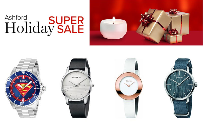 Ashford Holiday Super Sale: Up to 85% Off on Watches