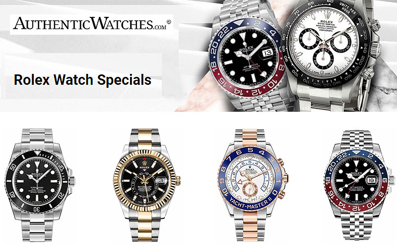 Sale: Up to 45% Off on Rolex Watches