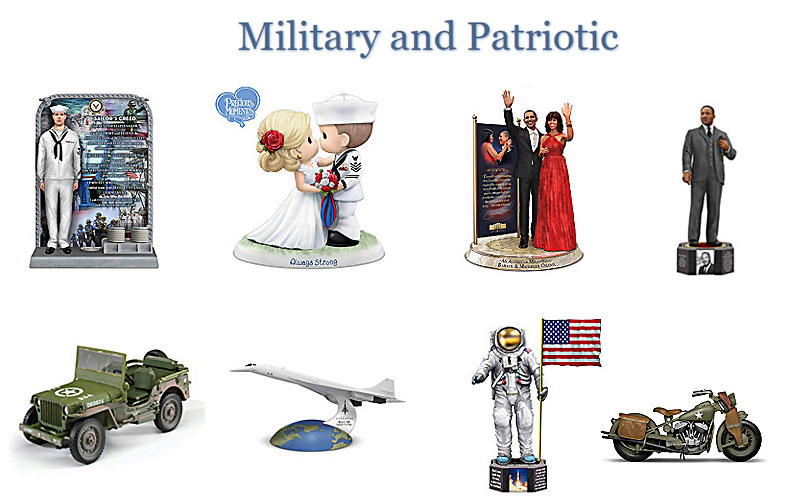 Discount Military & Patriotic Collectibles at Hamilton Collection
