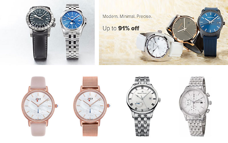 Ashford Clearance Sale! Up to 95% Off on Top Brand Watches