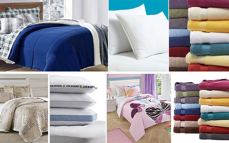Up to 60% Off on Home Textiles, Bedding, Curtains & More