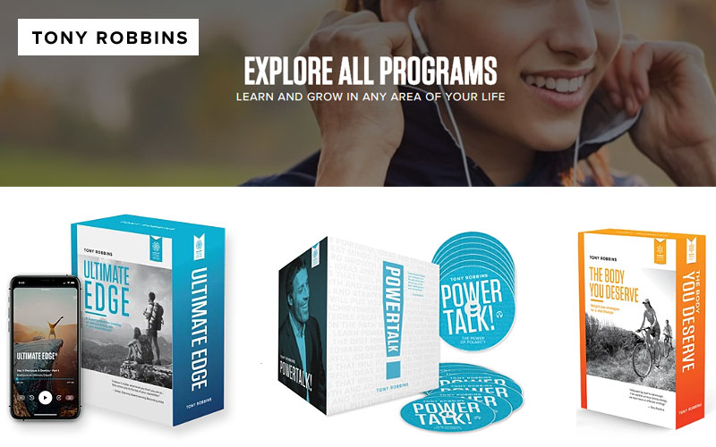 Discover The Best Tony Robbins Learning Programs
