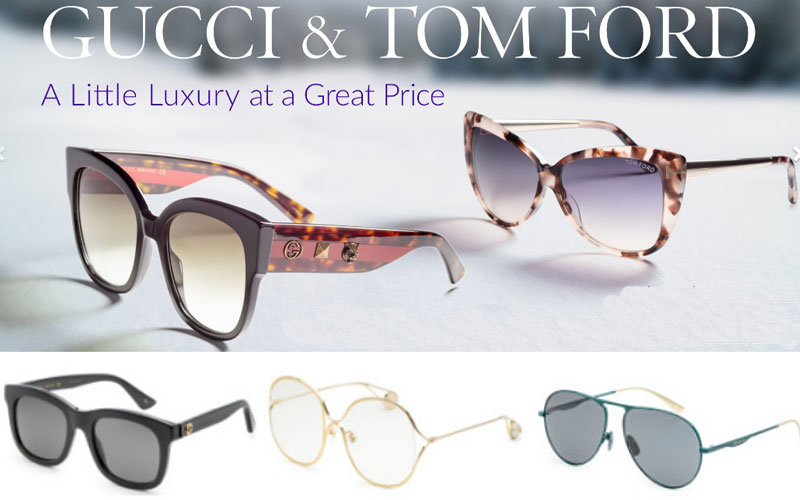 Up to 85% Off on Gucci & Tom Ford Sunglasses
