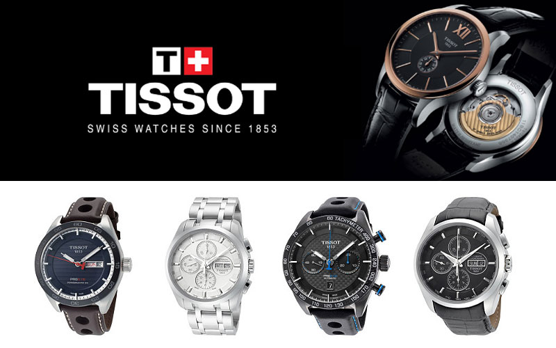 Up to 55% Off on Tissot Watches