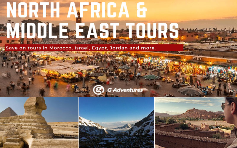Up to 20% Off on Middle East & North Africa Tours