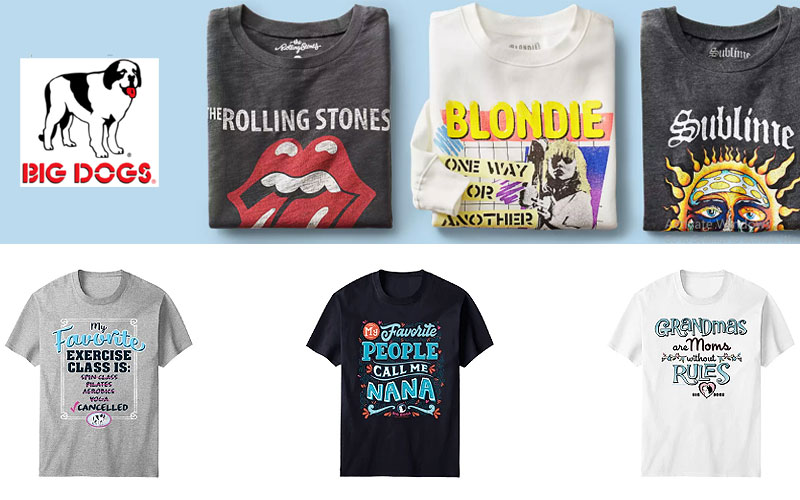 Up to 65% Off on Women's Graphic Tees