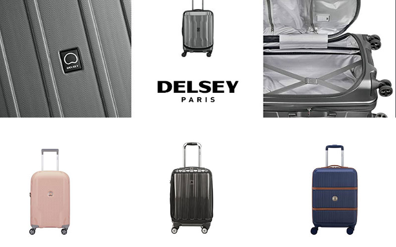 Up to 70% Off on Delsey Paris Hardside Luggage