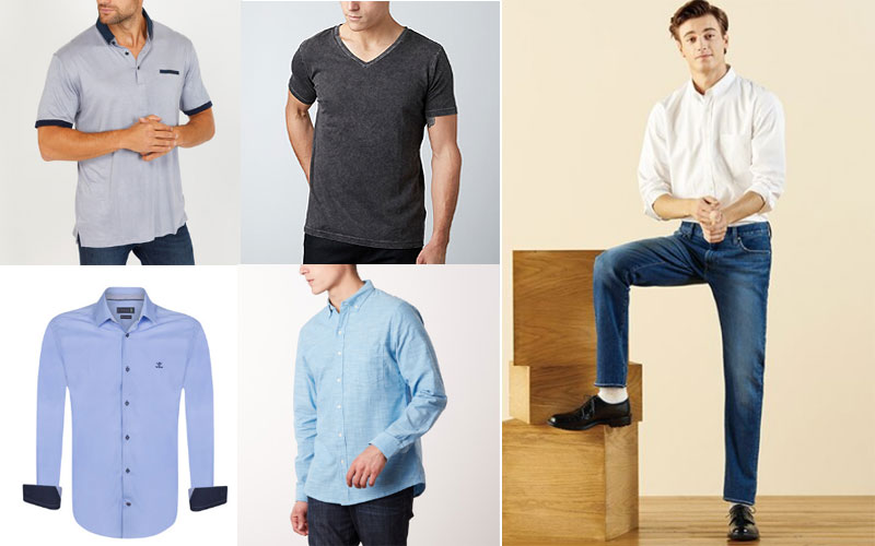 Up to 80% Off on Men's Shirts & T-Shirts