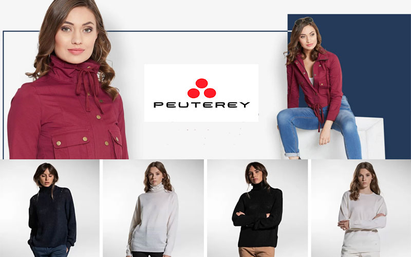 Up to 30% Off on Peuterey Women's Topwear & Sweaters
