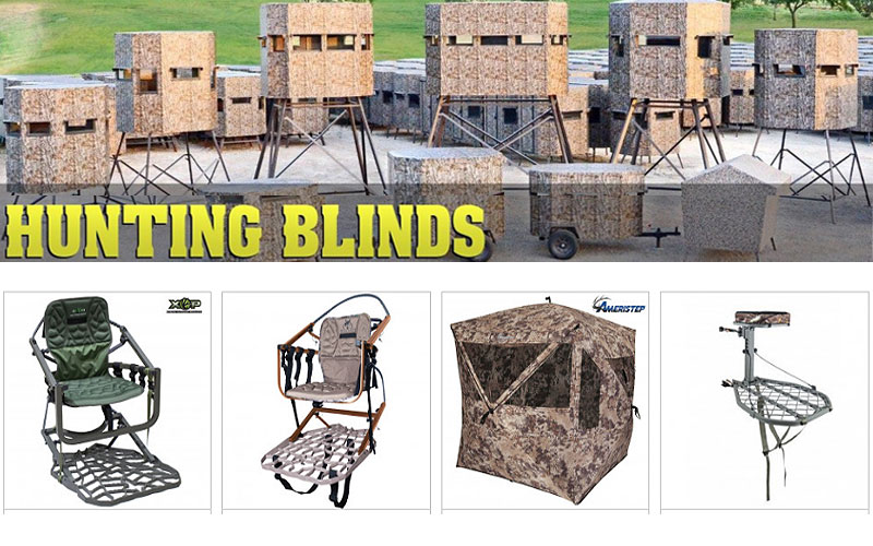 Up to 50% Off on Hunting Blinds, Stands & Accessories