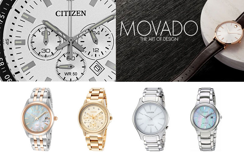 Up to 75% Off on Citizen & Movado Watches