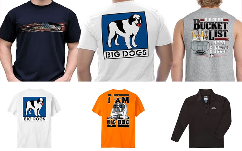 Big Dog Sportswear Clearance Sale: Up to 30% Off