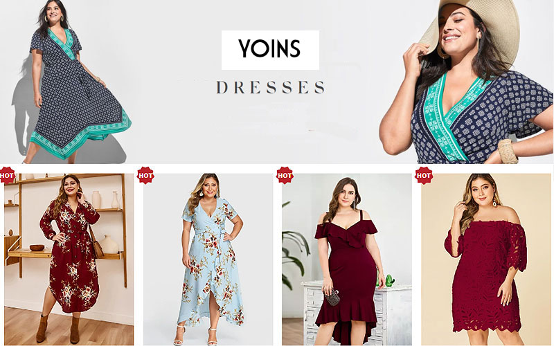 Up to 40% Off on Plus Size Women's Dresses