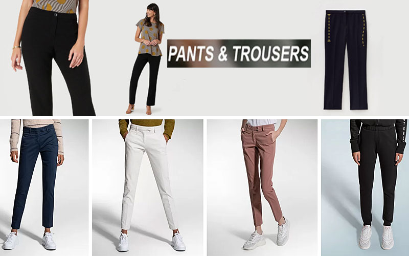 Up to 40% Off on Women's Trousers & Pants