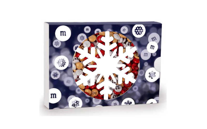 MY M&M'S Snowflake Gift Box