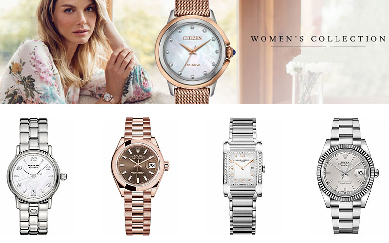 Up to 75% Off on Top Brand Luxury Watches for Women
