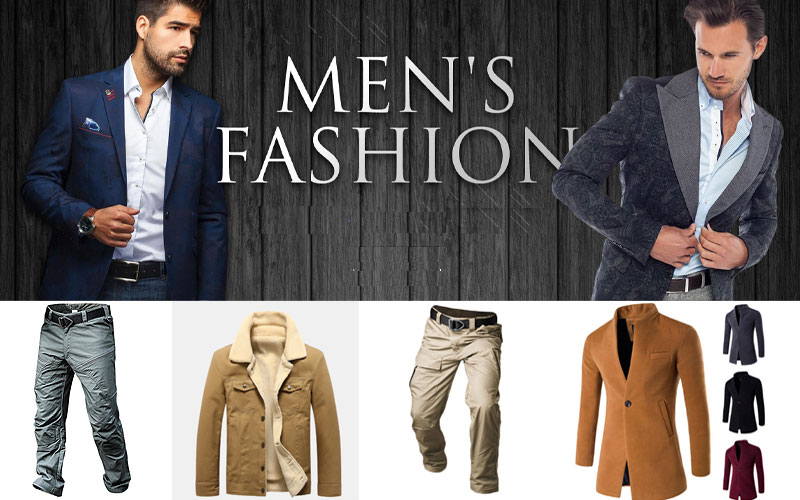 Up to 70% Off on Trendy Men's Clothing 2020