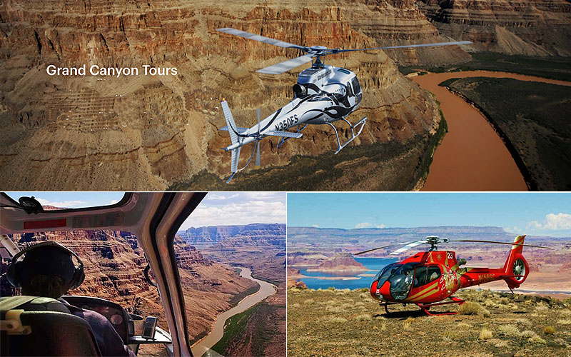 Best Grand Canyon Helicopter Tours & Helicopter Rides