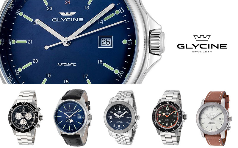 Best Glycine Watches for Sale | Up to 85% Off