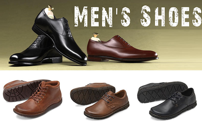 Clearance Sale: Up to 20% Off on Men's Shoes