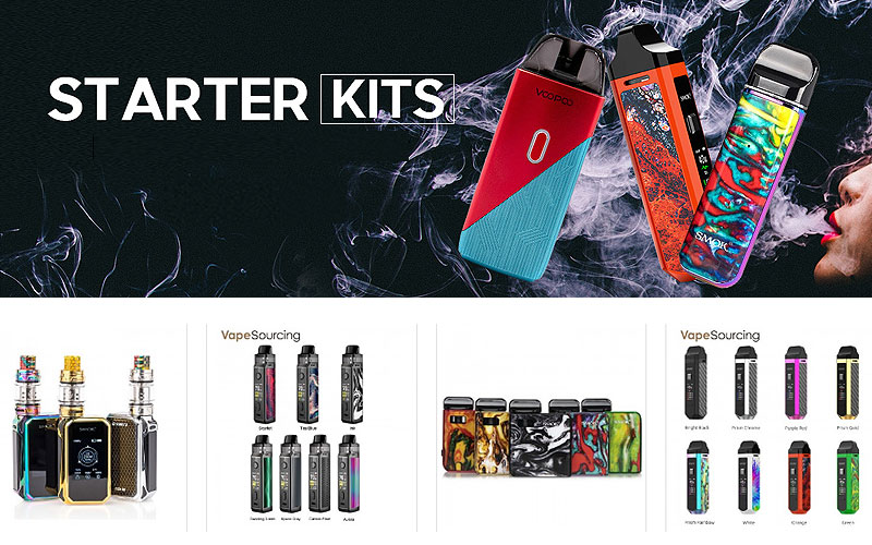 Up to 70% Off on Vape Starter Kits