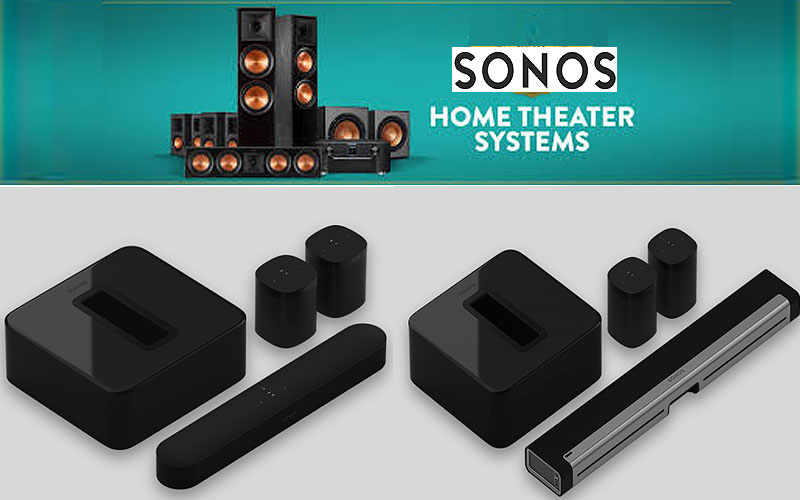 Discount Sonos Home Theatre & Outdoor Wireless Speakers