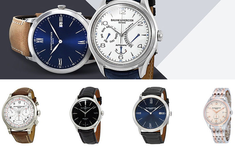 Up to 75% Off on Baume Mercier Watches
