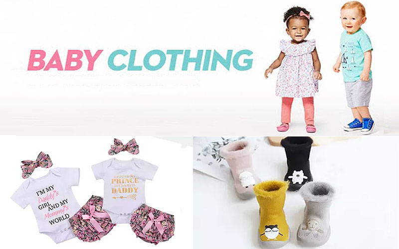 Up to 85% Off on Baby's Clothing & Shoes