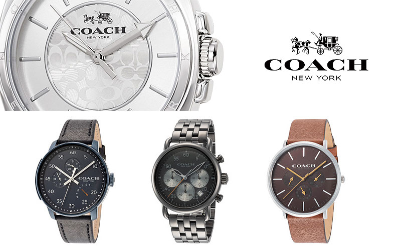 Up to 65% Off on Coach Women's Watches