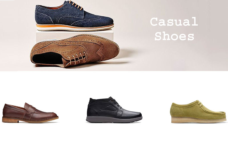 Up to 40% Off on Trendy Men's Casual Shoes