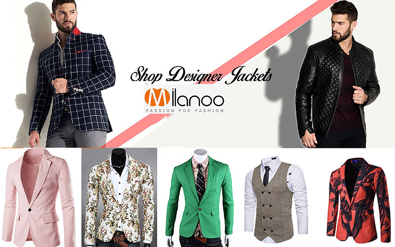 Up to 80% Off on Men's Blazers & Jackets
