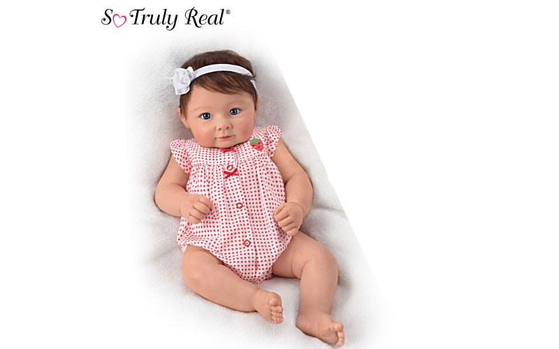 Linda Murray Sweetly Snuggled Sarah Poseable Baby Doll