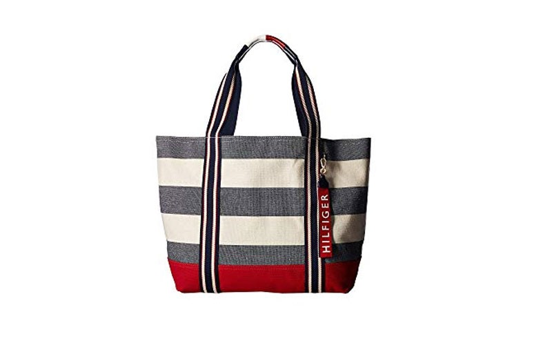 eebd2606e3 62% Off on Tommy Hilfiger Canvas Item Tote Bags   6PM - Price ...
