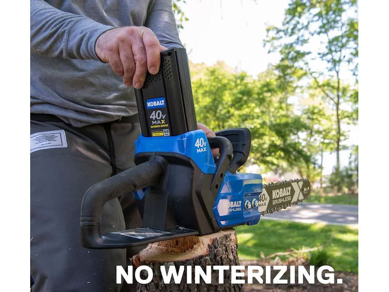 Kobalt 40-Volt 14-in Brushless Cordless Electric Chainsaw