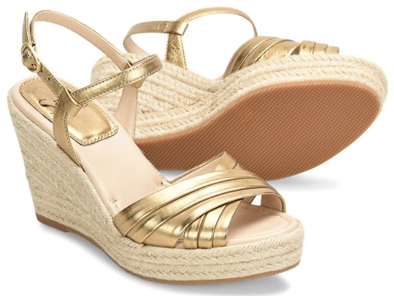 Sofft Solani Old-Gold Sandals For Women