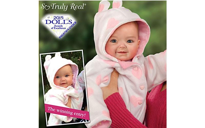 Linda Murray So Truly Real Tiffany Baby Doll Ashton