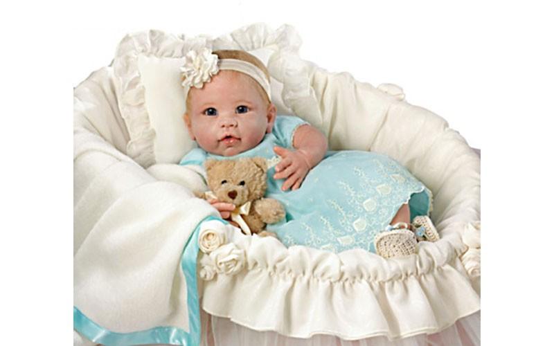 Violet Parker Little Squirt Lifelike Baby Girl Doll Deal
