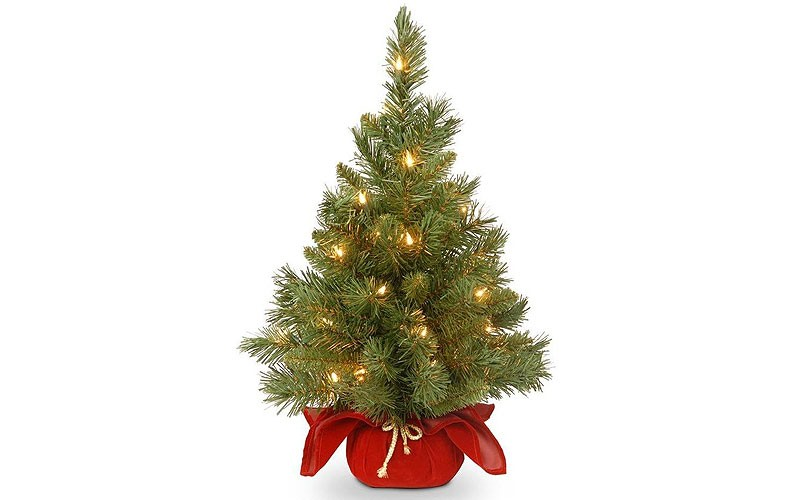National Tree Company 2-ft Pre-lit Artificial Christmas Tree - National Tree Company 2-ft Pre-lit Artificial Christmas Tree @ Lowes