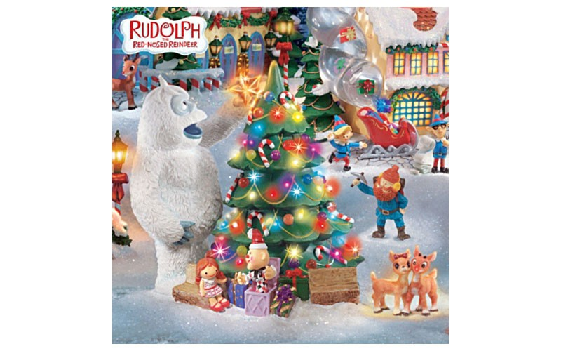 Rudolph Christmas Village.Rudolph The Red Nosed Reindeer Holiday Village Colle