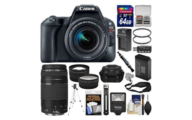 Canon EOS Rebel SL2 Wi-Fi Digital SLR Camera