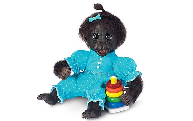 Cindy Sales Dottie S Day Of Fun Lifelike Monkey Doll Ashton Drake