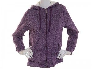 Women's Starting Point Marled Sherpa Full Zip Hoodie